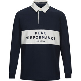 Peak Performance Rugby LS Shirt Herre salute blue